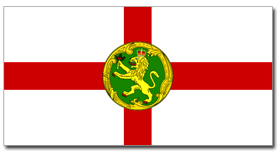 Flag of Alderney